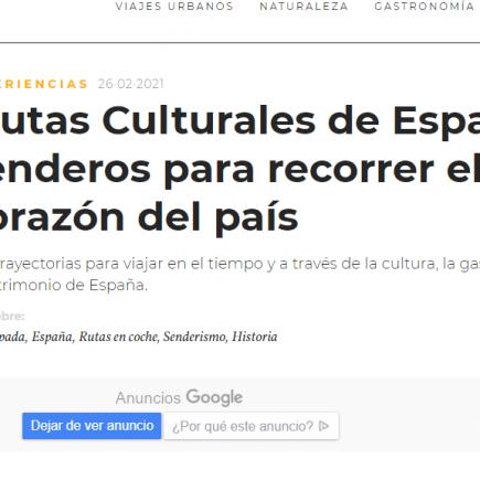 Rutas Culturales de España: senderos para recorrer el corazón del país