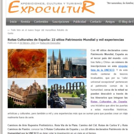 Rutas Culturales de España: 22 sitios Patrimonio Mundial y mil experiencias