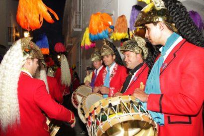 Víspera de San José, Tamborrada y Candelorios, Baena