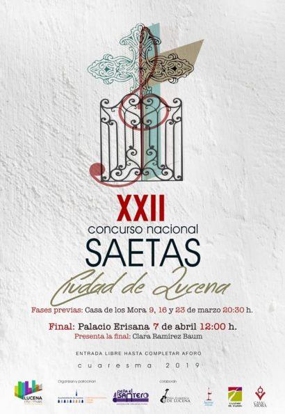 XXII Concurso Nacional de Saetas, Ciudad de Lucena
