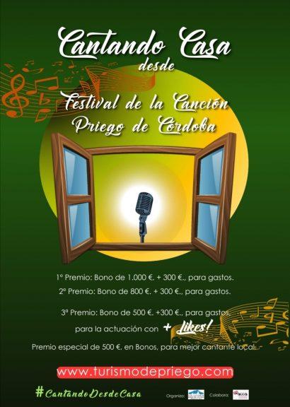 I Festival de la Canción, Priego de Córdoba #cantandodesdecasa
