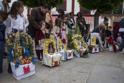 Las Mayas, procesiones infantiles, Carmona