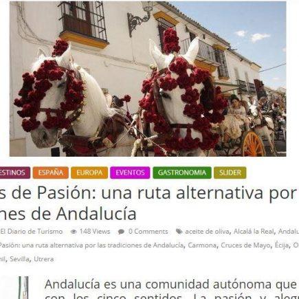 Reportaje publicado en medios de Argentina: Caminos de Pasión: una ruta alternativa por las tradiciones de Andalucía