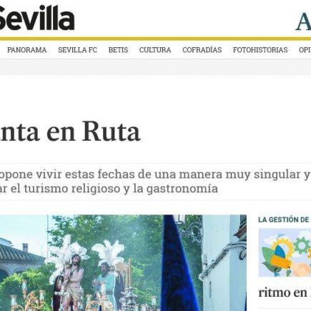 Caminos de Pasión en Diario de Sevilla: Semana Santa en ruta