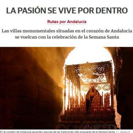 Caminos de Pasión en Diario Sur: La pasión se vive por dentro