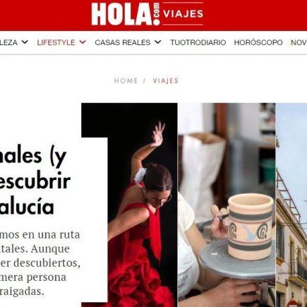 Caminos de Pasión en Hola Viajes: Experiencias originales (y con raíces) para descubrir el corazón de Andalucía