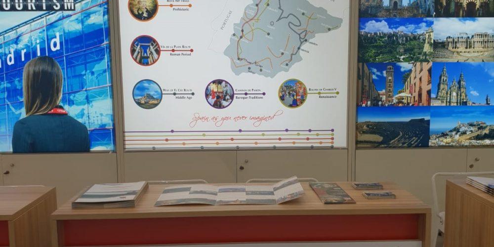 """Cinco itinerarios culturales españoles se promocionan en la WTM de Londres bajo la marca """"Rutas Culturales de España"""""""