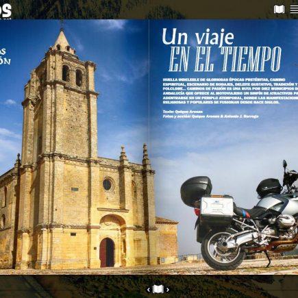 Caminos de Pasión en Revista Motoviajeros: Un viaje en el tiempo