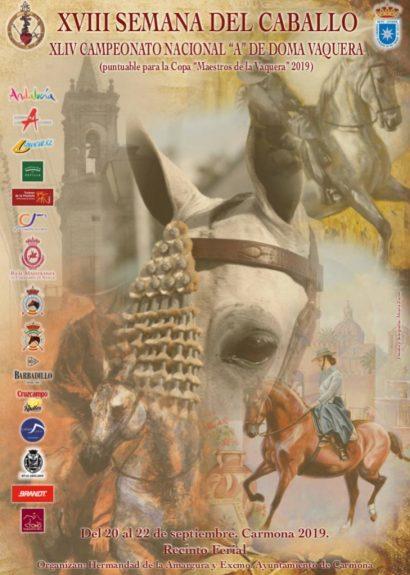 "XVIII SEMANA DEL CABALLO Y DEL XLIV CAMPEONATO NACIONAL ""A"" DE DOMA VAQUERA"