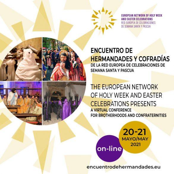 La Red Europea de Celebraciones de Semana Santa y Pascua presenta el I Encuentro de Cofradías y Hermandades