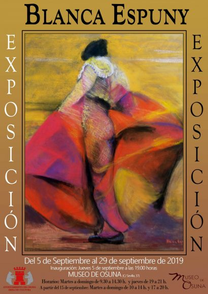 Exposición de pintura Blanca Espuny, Museo de Osuna