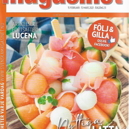 Reportaje de Lucena en Magasinet