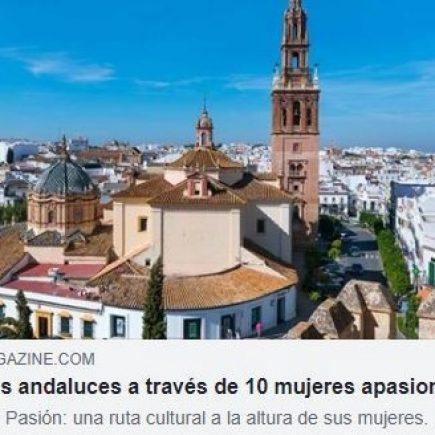 Revista Etheria: Diez pueblos andaluces a través de diez mujeres apasionadas