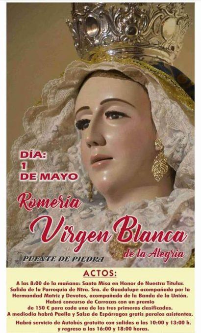 Romería de la Virgen Blanca de la Alegría, Baena