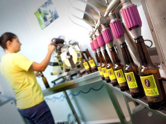 Tierra de Frontera. Craft beer
