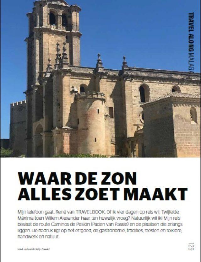 Caminos de Pasión en la Revista Travelbook, Holanda