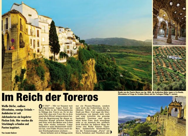 Caminos de Pasión en Kronen Zeitung (Austria)