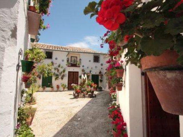 Barrio de la Villa y Balcón del Adarve (Villa-Viertel und der Balcón del Adarve)