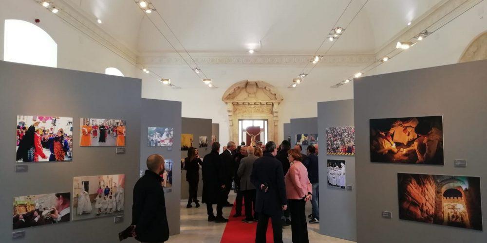 Caminos de Pasión presente en la muestra  'La Procesión. 500 años de historia' en Caltanissetta (Sicilia)