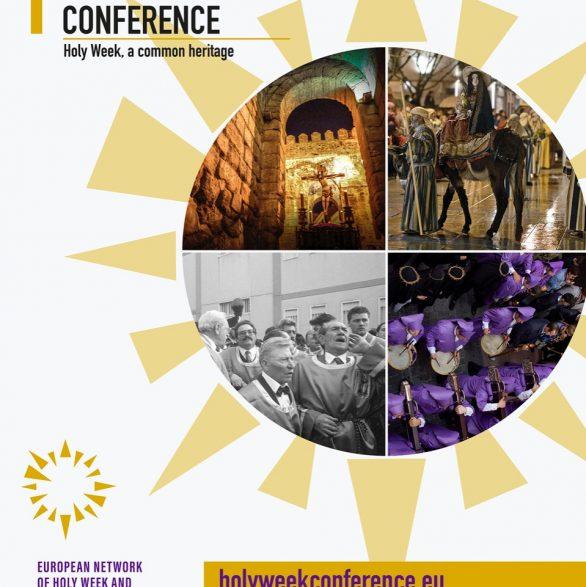 El I Congreso 'La Semana Santa, un Patrimonio Común' congregará 9  conferenciantes de 3 países y 23 comunicaciones