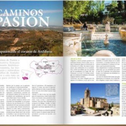Caminos de Pasión en Revista Aire Libre.