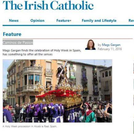 Caminos de Pasión en The Irish Catholic