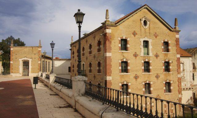 'La Alianza' flour and electricity factory