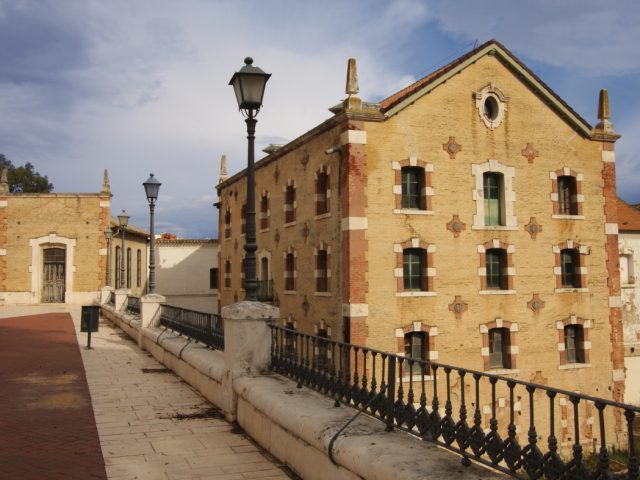 'La Alianza' flour and electricity factory
