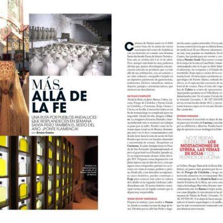 Más allá de la fe. Revista Marie Claire
